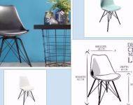 Design stoel metal Luuk