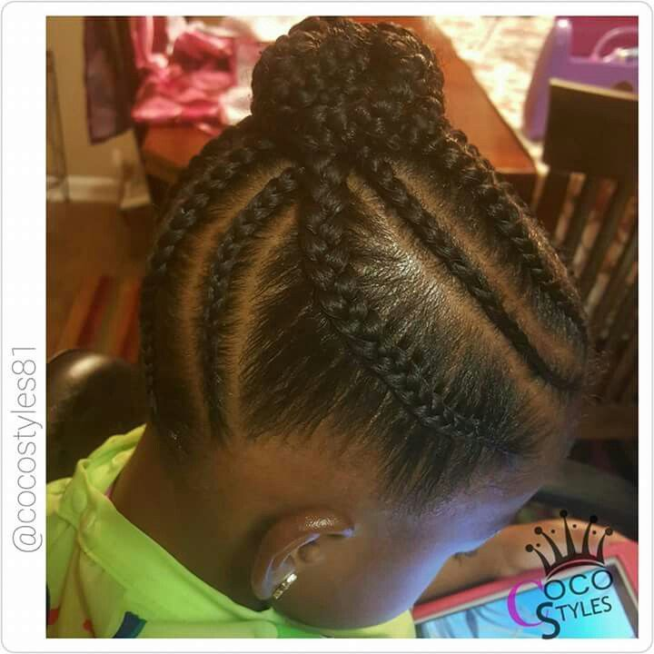 214 Best Cute Protective Styles For Little Girls Images On