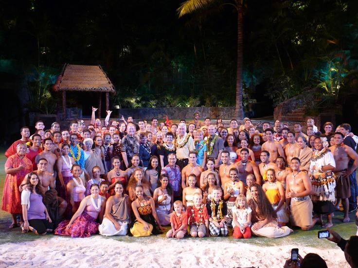 My dream job!!! Haa: the breath of life night show at the PCC Hawaii