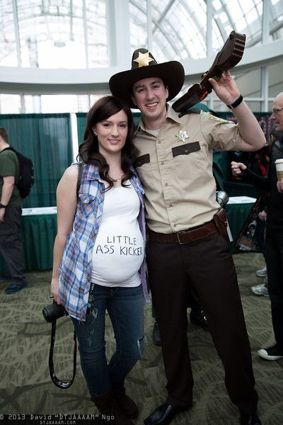 rick and lori walking dead costume - Google Search