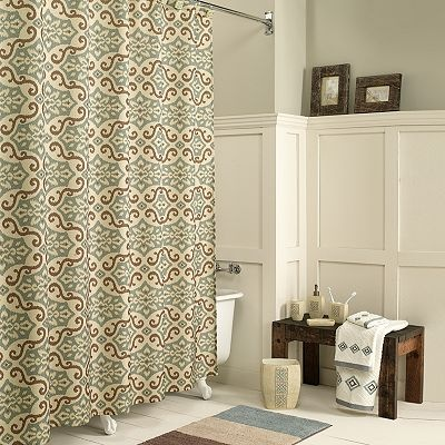 I Like This Shower Curtain And Wall Color