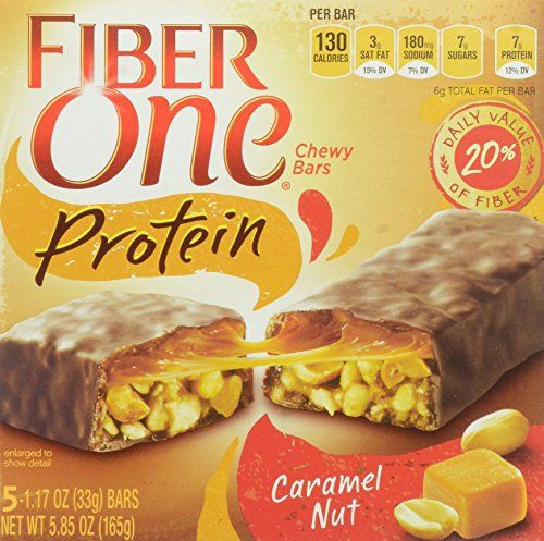 Fiber One Snacks Fiber One Protein Caramel Nut Chewy Bars, 5.85 Ounce Wrappers - http://sleepychef.com/fiber-one-snacks-fiber-one-protein-caramel-nut-chewy-bars-5-85-ounce-wrappers/