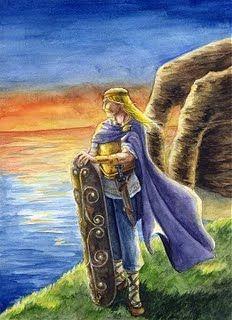 """Bel / Belenus / Belenos / Belimawr-Seu nome significa """"brilhante"""", sendo o Deus do Sol e do Fogo dos irlandeses. Belenos dá seu nome ao festival de Beltane, ou Beltain, festa de purificação e fertilidade comemorada em 1 de maio no hemisfério norte. Belenos era ainda ligado à ciência, cura, fontes térmicas, fogo, sucesso, prosperidade, colheita e à vegetação."""