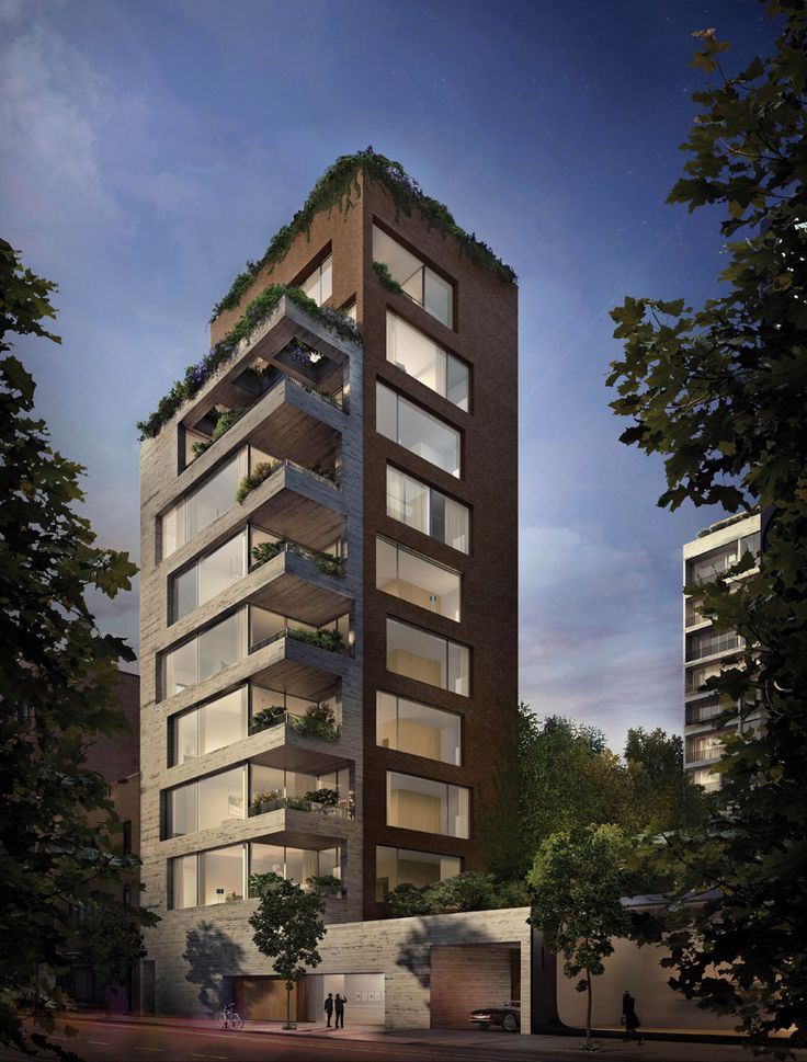 Brazilian architect Isay Weinfeld has unveiled designs for his first New York project: a high-end residential building in the Chelsea neighbourhood.