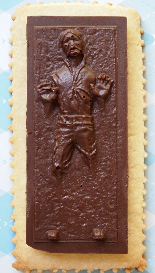 Chocolate Han Solo in Carbonite Cookie Recipe   # Pin++ for Pinterest #