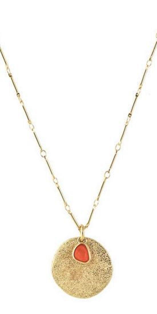 Love the Unique Gold Chain Design! Tropicali Long Necklace #Unique #Gold #Tropicali #Long #Necklace #Summer #Fashion #Jewelry #Gift #Ideas