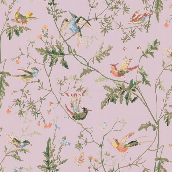 Click To Zoom In - Cole and Son Humming Birds (62-1003)