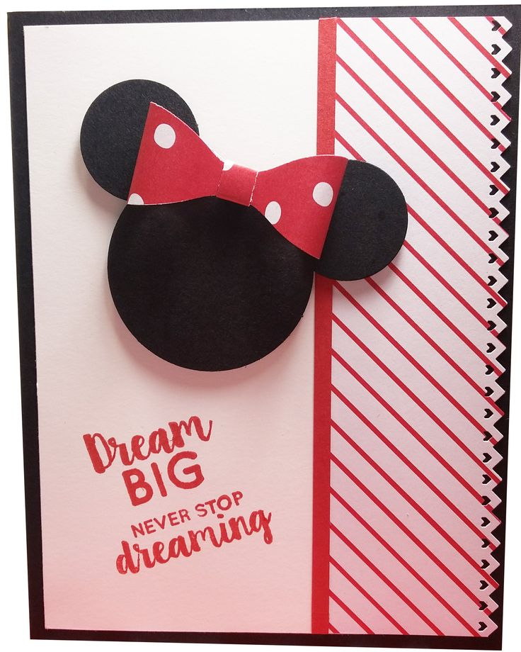 Sharing the Magic! Check out my new Minnie Mouse Card on #etsy http://etsy.me/2ErVLHa #minniemouse #greetingcard #disney