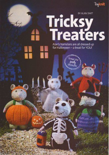 "Tricksy Treaters Halloween Toy Hamsters Knitting Pattern: Measurements each hamster 15cm (6"") Tall (Simply Knitting Magazine Pull Out Pattern) , http://www.amazon.co.uk/dp/B008YC1NHU/ref=cm_sw_r_pi_dp_ZINitb1MTVZ1W"