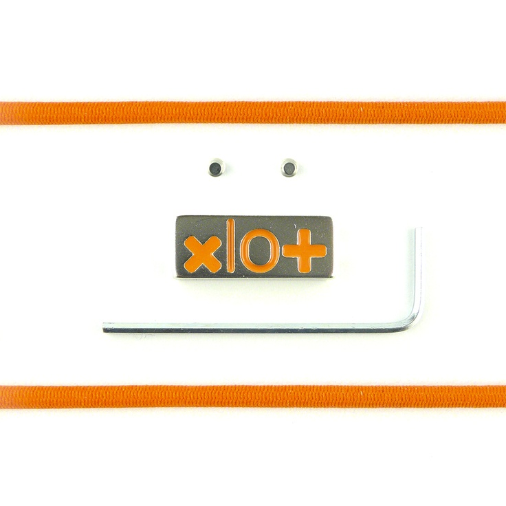 Mattoncino #xlo+ brillantinato arancione $33.45