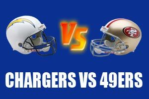 Watch San Diego Chargers vs San Francisco 49ers Game Live Online Stream