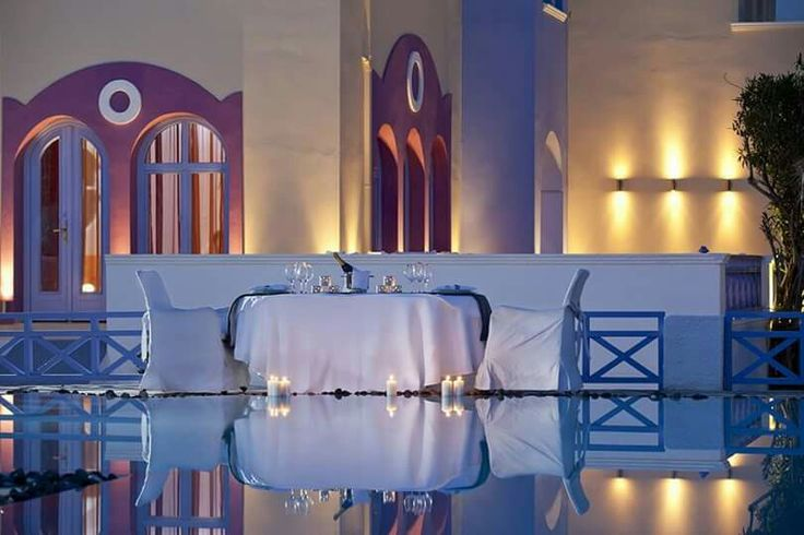 Wishing of a dreamy candle-light dinner but not wishing to leave your comfort at your villa/hotel? Leave it on us! You name the place and we'll create the most idyllic setting and the tastiest menu for you! (See more at http://www.gastronomysantorini.com and http://www.candlelightdinnersantorini.com)
