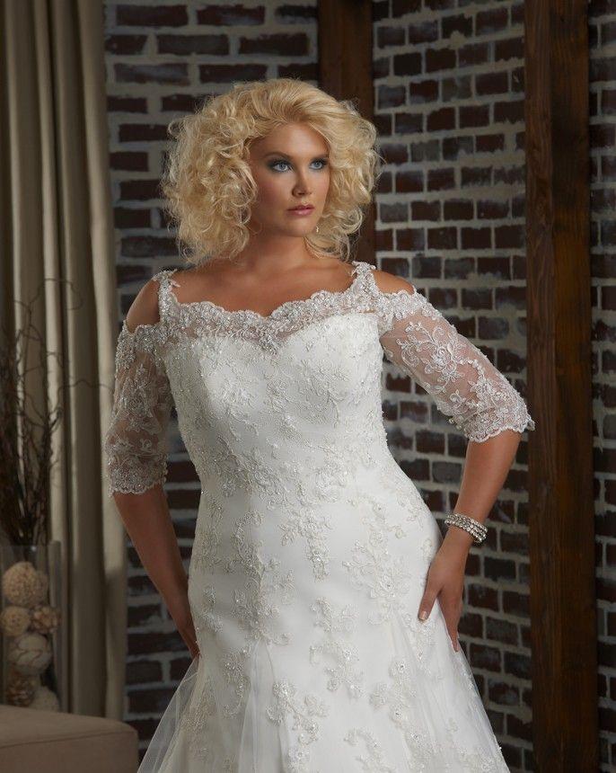 92 Best Plus Size Wedding Dresses Images On Pinterest Short