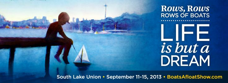 Rows, rows, rows of boats! Check out the South Lake Union Boats Afloat Show with activities for adults and kids alike!