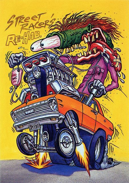 Rat Fink Ed Big Daddy Roth - Street Racers Rehab