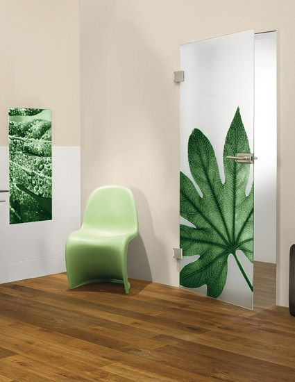 Printed Glass for shower doors