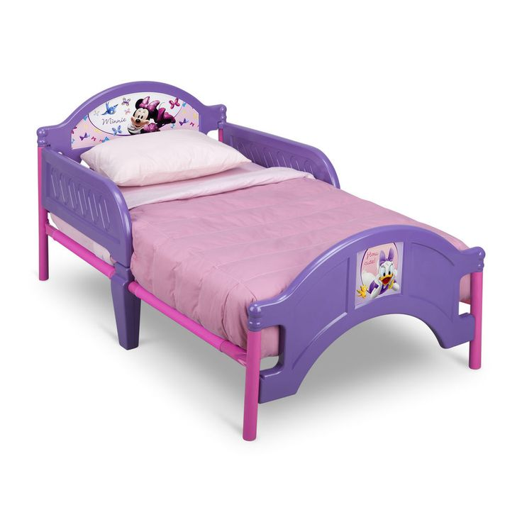 Minnie Mouse Disney Princess Toddler Bed Frame Pink Purple Play Tent Room Girls #Disney  sc 1 st  Pinterest & 73 best babies! images on Pinterest | Budget Acoustic guitar and ...