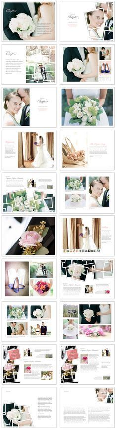 Interactive Wedding Book Template for iBooks Author - Make your wedding book a dream come true. Share with family, friends, or give as a gift to the happy couple.