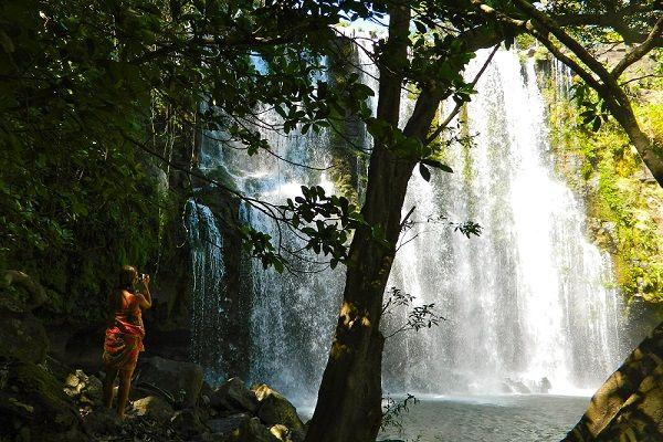 » Blog Archive Beautiful Llanos de Cortez Waterfall  