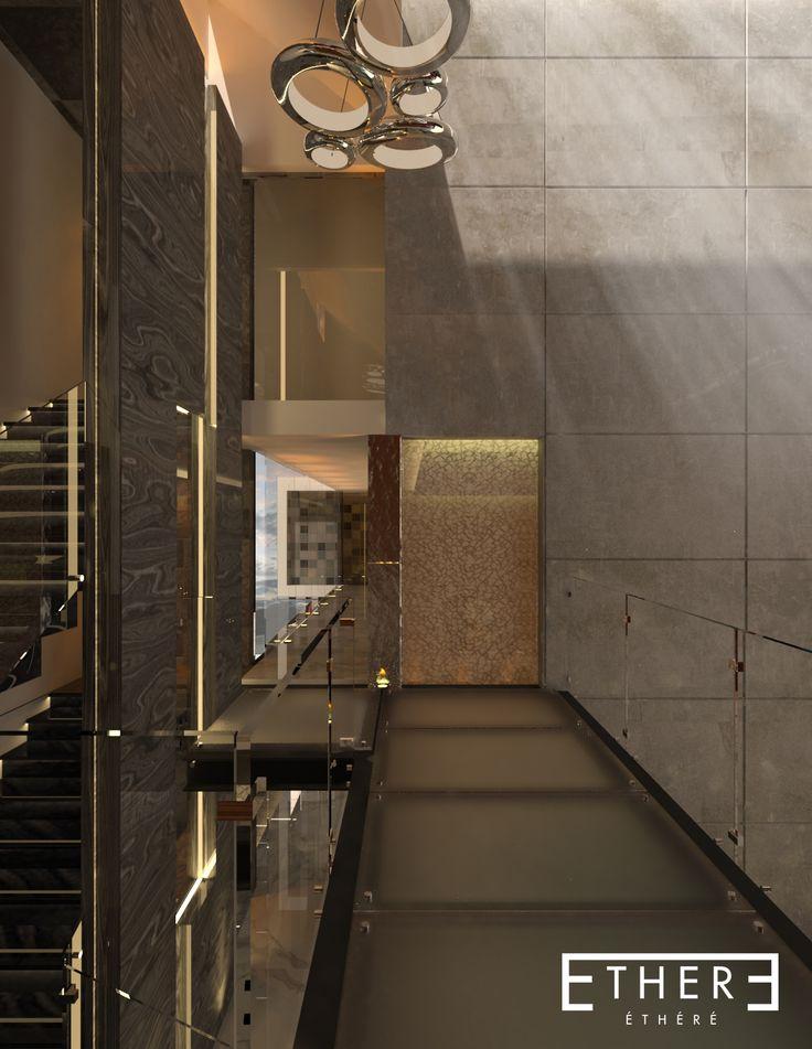 hall design, vista diamante puebla mexico
