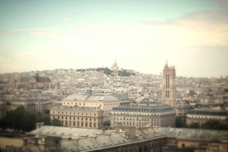Paris France Sacre-Coeur City Skyline Travel Photography Image www.northernvoyager.net Photo by Lee Mailer