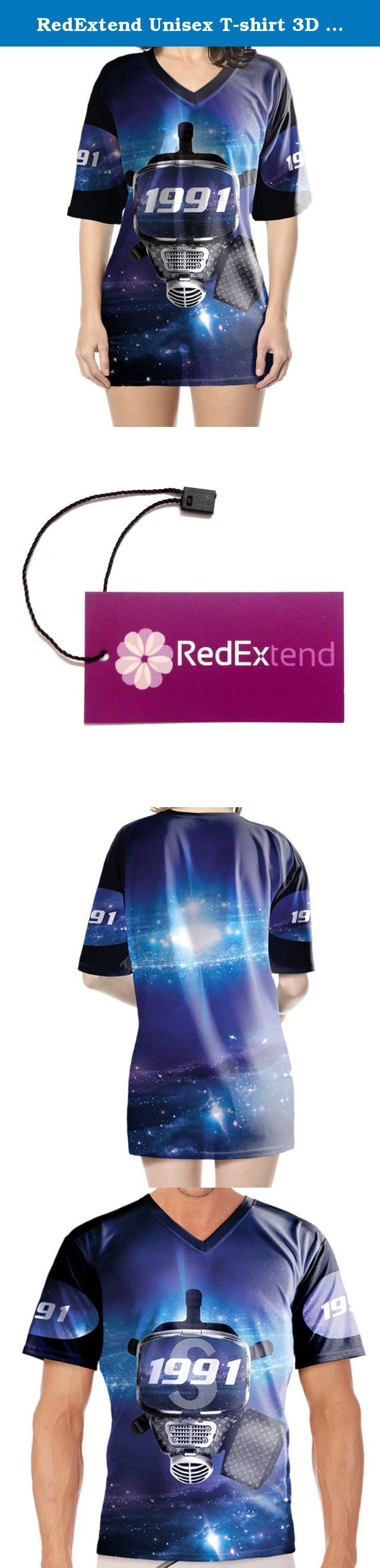 RedExtend Unisex T-shirt 3D Printed Cat Casual Sport Tops Training Jerseys. Our brand 'RedExtend' has been registered in US by USPTO. It is protected by laws in US. Please do not attempt to infringe our right otherwise legal action will be taken. Registration Number: 4719976. The package contains 'RedExtend' Tag 100% Brand New & High Quality Shirt with RedExtend Tag in each package. Fabric: Polyester. Pest control, Quick-drying, Breathable. Good scalability and fastness, Washable Pinhole...