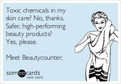 Ask me for your personal introduction. It will be the relationship of a lifetime! www.beautycounter.com/sarahtarnovsky