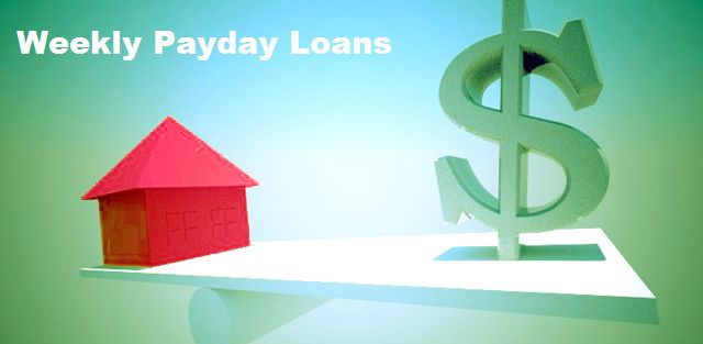 Weekly payday loans are complete financial solution, These loans are the ultimate financial solution of advances which are available in its online process and which will always save the time of the borrower.