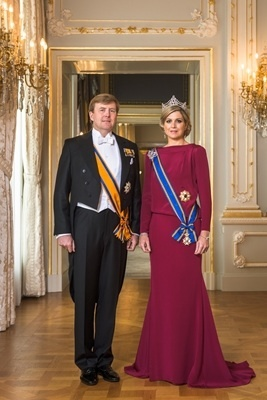 Official Site:  Their Majesties KIng Willem-Alexander and Queen Consort Maxima of the Netherlands 4/30/13