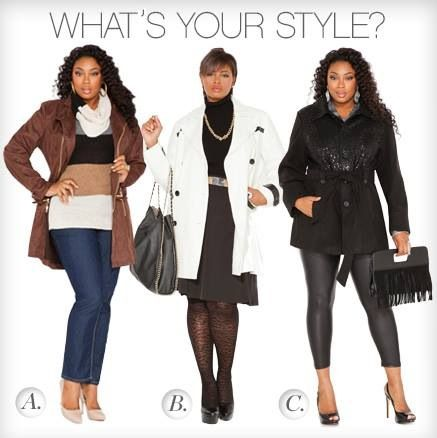 Plus size fashion Ashley Stewart .com