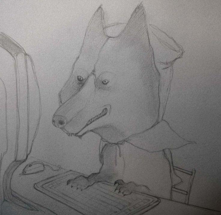 Come nasce un'illustrazione: lo studio del personaggio