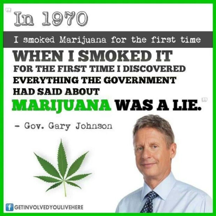 Government Gary Johnson | Cure for cancer: Cannabis ...