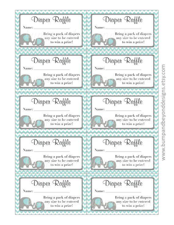 Printable Free Diaper Raffle Tickets Pdf : printable, diaper, raffle, tickets, Shower, Raffle, Tickets, Viewer