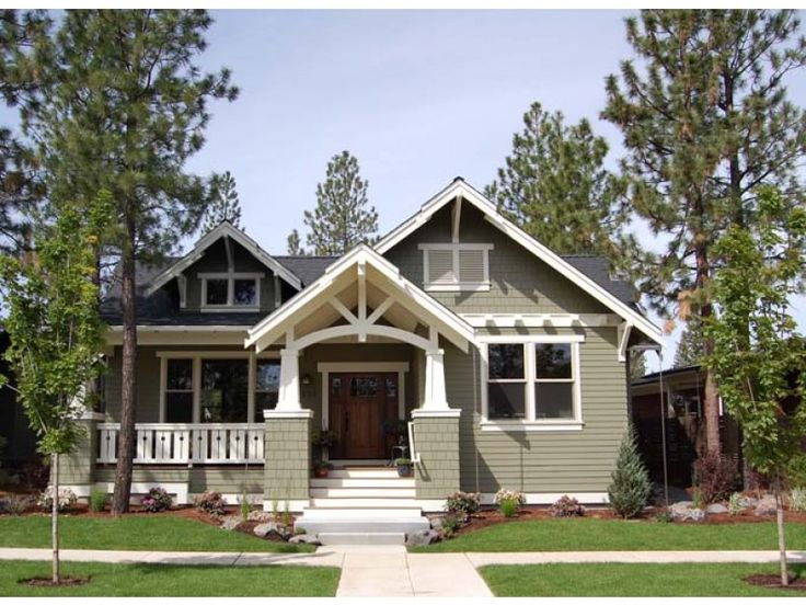 568 best craftsman style homes images on pinterest for American craftsman house plans