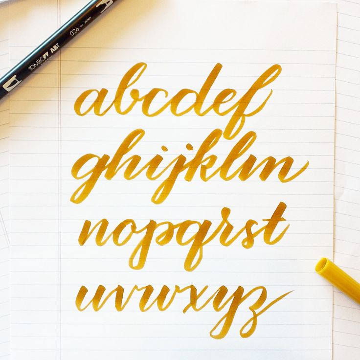 225 Best Images About Calligraphy On Pinterest Address