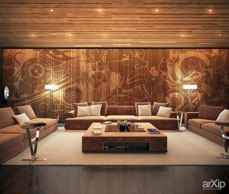 Фото Холл цокольного этажа - интерьеры, квартира, дом, подвал, погреб, винный погреб, современный, модернизм, стена, 100 - 200 м2