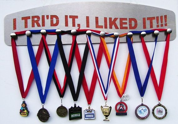 Finisher Medal Display How to hang medals Gifts The by KenAndNell, $130.95
