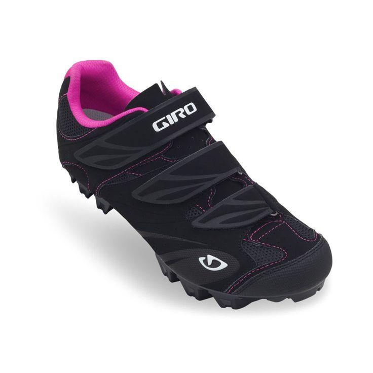 Giro - Zapatillas de ciclismo para mujer BLACK / RED 40