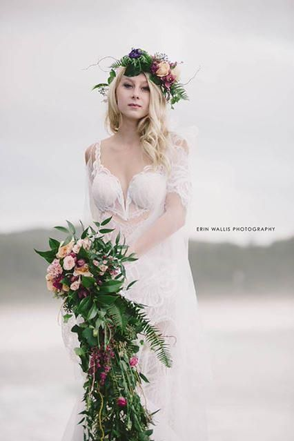 Beach Wedding Dresses Toronto : Images about kleinfeld canada at hudson s bay on