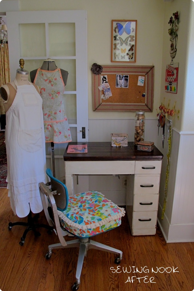 Sew Country Chick- Farmhouse Couture: New Sewing Nook Reveal