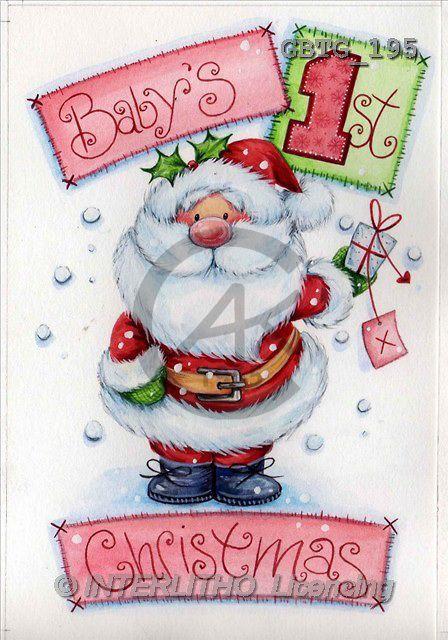 Theresa, CHRISTMAS SANTA, SNOWMAN, paintings(GBTG195,#X#)