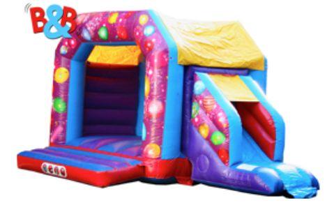B&B Bouncy Castle Giant Inflatable