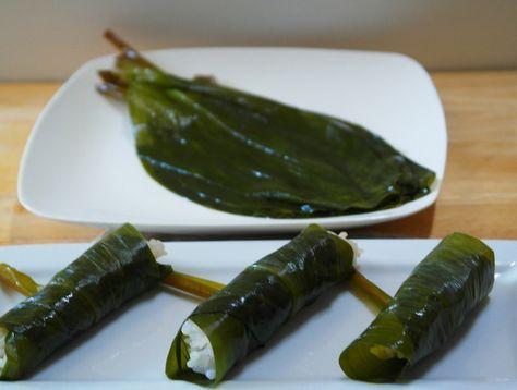 봄의 맛 ~ 산마늘(명이 나물)장아찌 만들기