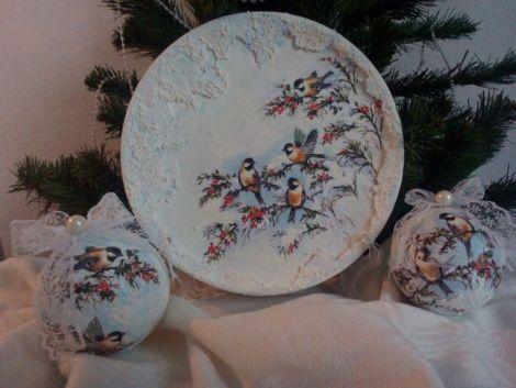 Set decorativ pentru Craciun