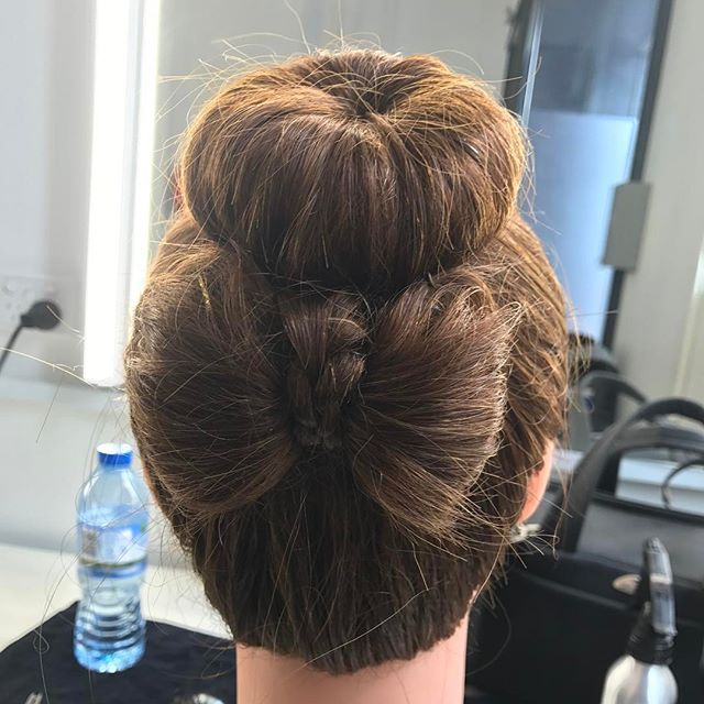 Just something pretty I did in class the other day while we where learning about buns. .  .  .  .  .  .  .  #hair #hairstyle #bun #ballet #bow #hairbun #hairbow #donut #bows #child #flexible #bblogger #blogger #makeup #hairandmakeup #brunette #longhair #brown #iphone #doll #pretty #beautiful #love #selenagomez #zoella #kyliejenner #jeffreestar #eminem #ryanreynolds #perfect