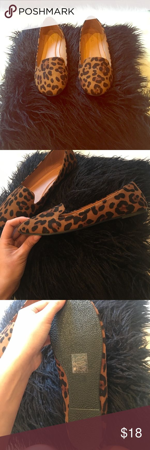 Leopard Ballet Flats Never worn.....again no box due to closet space Shoes