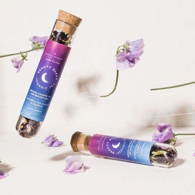 Beauty Sleep Organic Tea By Moonlit Skincare Organic Teas Skin Collagen Caffeine Free Tea