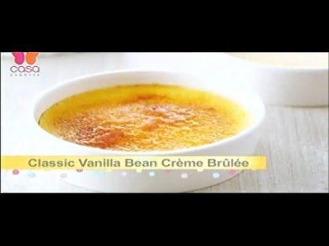 Como hacer Creme Brulee Bake With Anna Olson Programa completo español/latino - YouTube