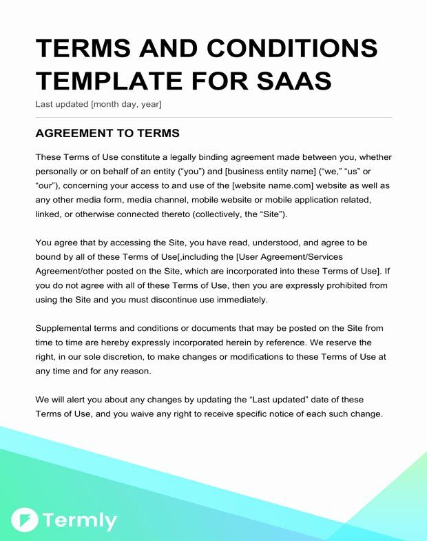 Terms Of Agreement Sample Best Of Free Terms Conditions Templates Terms And Conditions Template Term And Condition Template Letter Of Agreement Sample