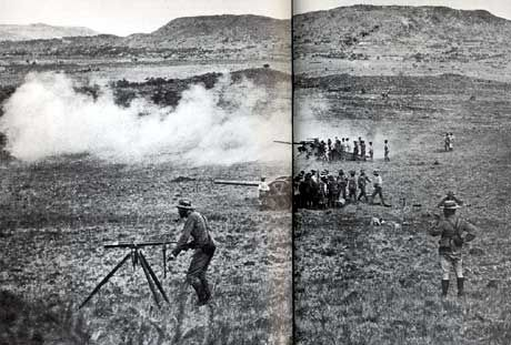Vaal Krantz Guns. This Day in History: Oct 11, 1899: Boer War begins in South Africa - It was a war of greed. An already rich and powerful nation wanted more and was willing to sacrifice anything to get it.